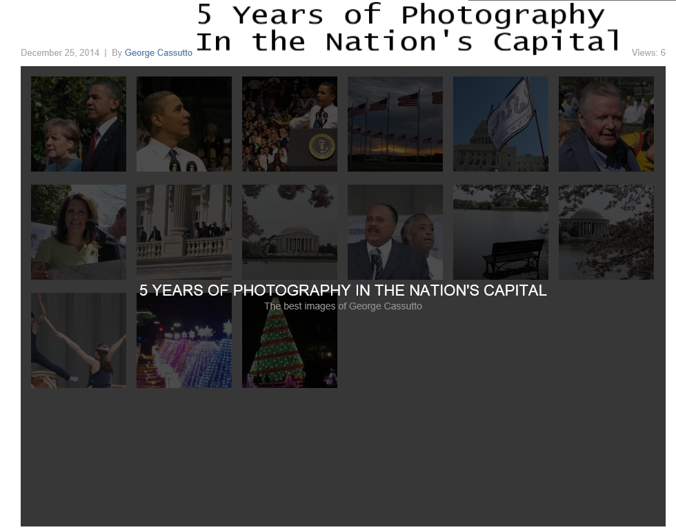 5 years of photography
